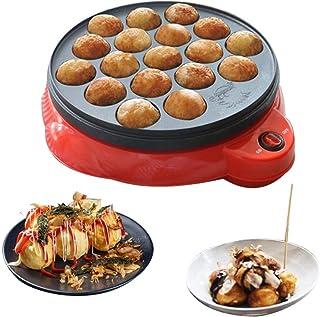 BAOSHISHAN - Máquina para hacer Takoyaki bolas de pulpo pequeña máquina de albóndigas eléctrica para el hogar máquina de Takoyaki mini máquina de bolas