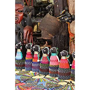 Handmade African Doll Vendor in Africa Journal Take Notes, Write Down Memories in this 150 Page Lined Journal:Lidl-pl