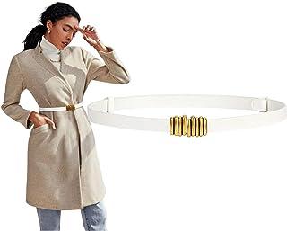 أحزمة خصر مرنة للنساء حزام مطاطي عصري من BALTEUS مع إبزيم ذهبي معدني سريع فساتين السيدات حزام جينز