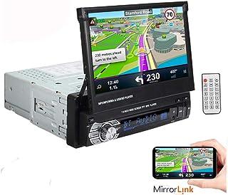 comprar comparacion 1 DIN 7 Pulgadas 1080P Reproductor de Radio estéreo para automóvil Soporte de Pantalla táctil LCD Función de Enlace de Esp...