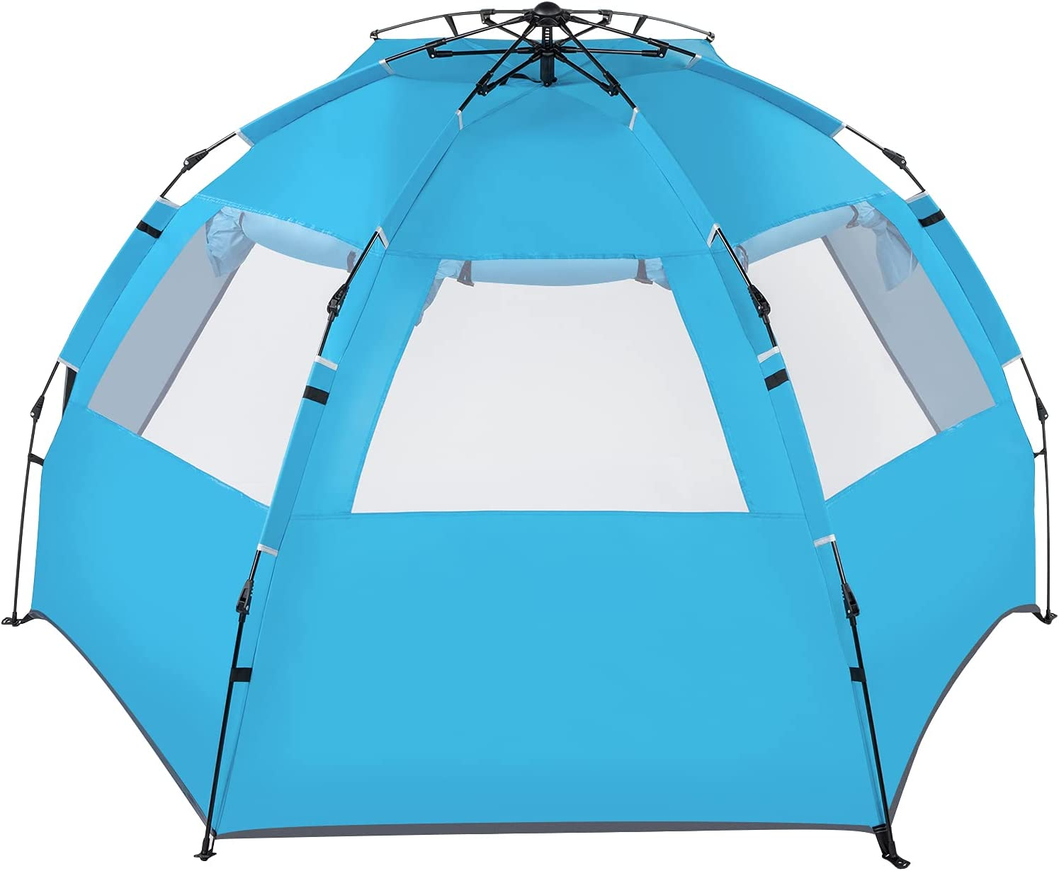 Fitmerry Easy Setup 40% OFF Cheap Sale Beach Tent Max 71% OFF Sun for Shelter - Portable