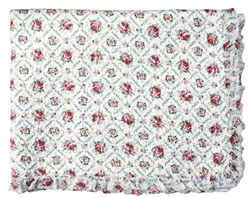 GreenGate - Malene - Bed Cover - Tagesdecke - Petit White - Baumwolle - 140 x 220cm