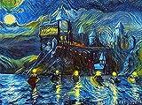 Starry Night Castle Print