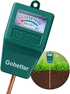 Soil Moisture Meter, Soil Test Kit for Gardens, Soil Moisture Sensor Meter Long Probe, Yard Moisture Meter for Plants/Flowers/Vegetable/Yard/Lawn (Single Function)