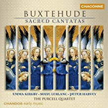 Buxtehude: Sacred Cantatas, Vol 1 /Kirkby * Leblanc * Harvey * Purcell Quartet