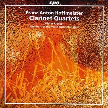 Hoffmeister: Clarinet Quartets