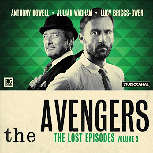 『The Avengers - The Lost Episodes, Volume 03』のカバーアート