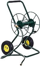 Anya Nana Easy Garden Hose Cart Reel Water Storage Wheeled Steel Frame Hose Truck Outdoor Water Planting