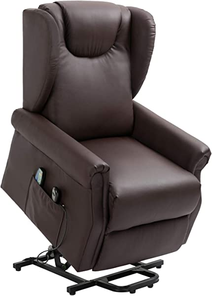 Recliner Padded Chair Fabric Single Sofa Reclining Seat Ergonomic Lounge Furniture For Living Room Brown