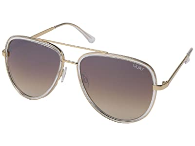 QUAY AUSTRALIA Quay x JLo All In (Clear/Brown) Fashion Sunglasses