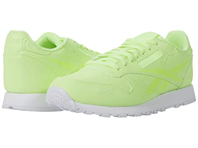 Reebok Lifestyle Classic Leather (Electric Flash/White) Men