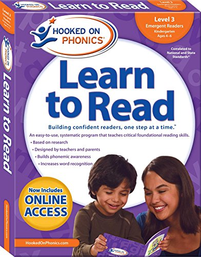 Hooked on Phonics Learn to Read - Level 3: Emergent Readers (Kindergarten   Ages 4-6) (3)