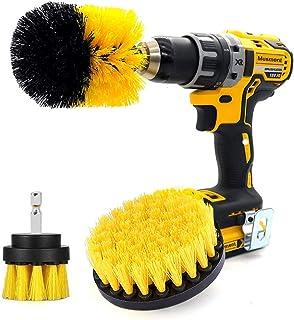 Musment Floor Mats Drill Brush for Car Wash Detailing Attachment Supplies Set Fit Wheel Cleaner ,Tire,Rim,Carpet, Bathroom...