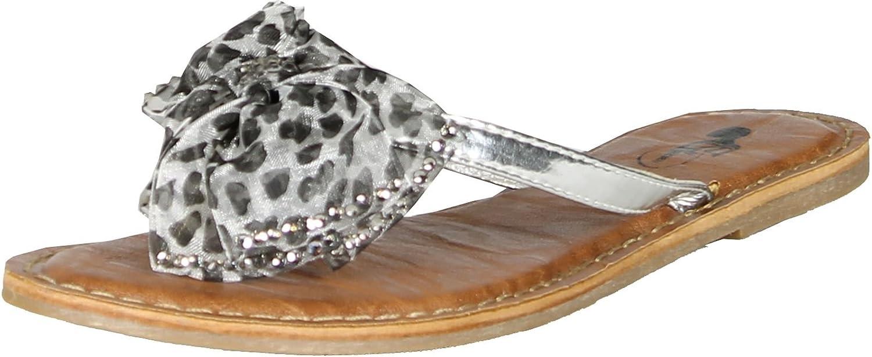 GCNY Good Choice Bow Tie Flip Flop Sandals