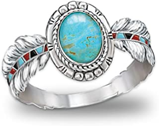 Bradford Exchange Turquoise Ring: Sedona Sky by The