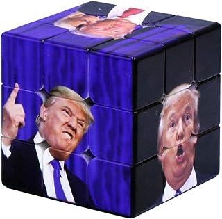 Hastighetspusselkub, 3 x 3 magisk kub, lätt att vrida och smidigt spel, 3D magisk kub snurrande pussel, för snabbkub med ö...
