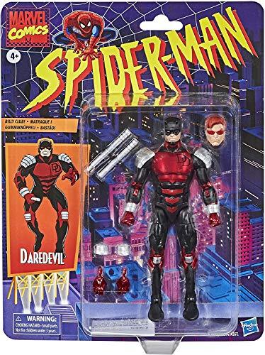 ハズブロ スパイダーマン マーベルレジェンド レトロパッケージ 6インチ アクションフィギュア アーマード デアデビル / Hasbro 2020 SPIDER-MAN MARVEL LEGENDS RETRO SERIES 6inch ARMORED D