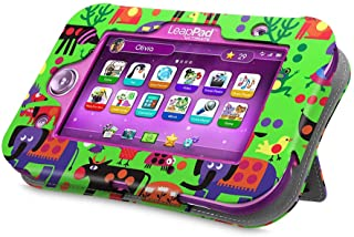 Fintie LeapPad Ultimate Case - Kids Friendly [Hands Free] Dual Viewing Angle Premium Vegan Leather Stand Cover for 7-Inch Leapfrog LeapPad Ultimate Ready for School Tablet, Zoo