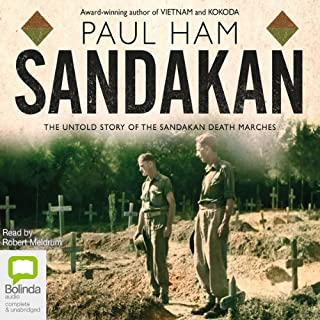Sandakan audiobook cover art
