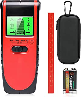 Stud Finder Wall Sensor Scanner,4 in 1 Electrical Multi Function with Lcd Display and Sound Warning for Wood Center Stud S...