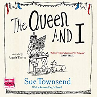 The Queen and I audiobook cover art