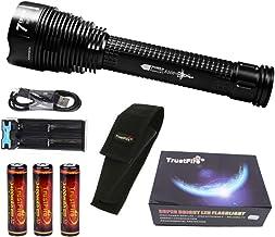 Trustfire J18 7 LED CREE XML-T6-3400 mAh Trustfire 18650-8500 lm / 1 modus / 3 batterijen waarschuwingen, bewaking, jacht,...