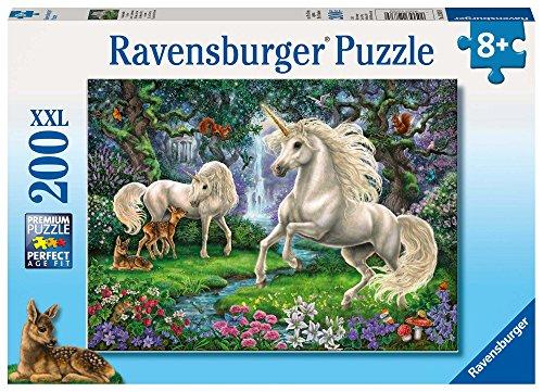 Ravensburger 128389 Puzzel Mystieke Eenhoorns - Legpuzzel - 200 Stukjes