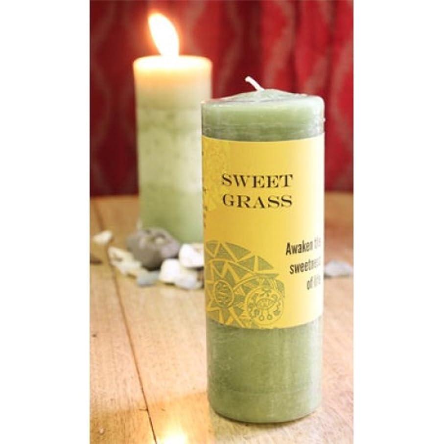 World Magic?–?Sweet Grass Candle