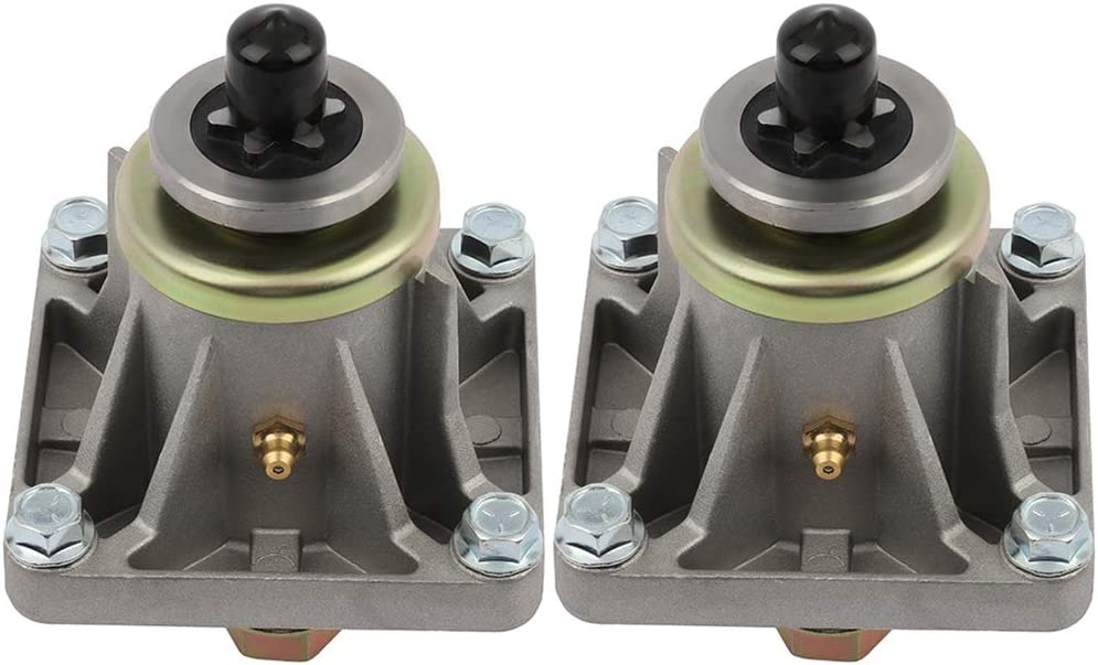 ECCPP Pack of 2 Spindle trust Assembly Replaces Spindles Beauty products fo Mower Lawn