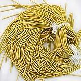 Francés de lingotes de alambre en color amarillo oro
