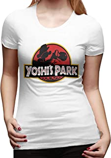 Women's Yoshi Park Cotton Personalized Custom Short-Sleeved Fashion T-Shirt