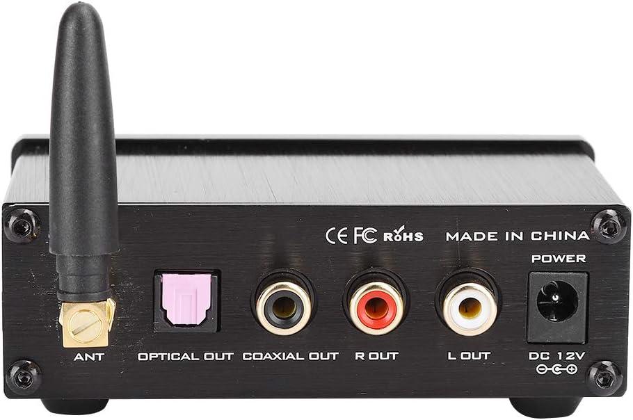 EU Ymiko FXAUDIO BL-MUSE-01 Pro Iron Shell Bluetooth 5.0 R/écepteur Audio Codage sans Perte APTX Ada Puce de Conversion Audio num/érique Haute Performance