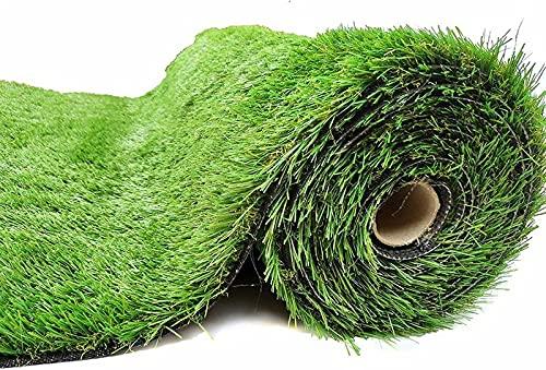 Césped artificial exterior - Rollo césped 1x5mm. Altura cesped 7mm - Kunstrasen erba artificiale gazon artificiel - Cesped terraza, jardin, piscina, perro.