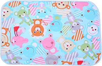 XuBa 60x90 Baby Diapers Changing Mat Cartoon Pattern Cotton Waterproof Sheet Baby Changing Pad