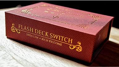 Shin Lim Flash Deck Switch 2.0 (Improved / Red) Trick