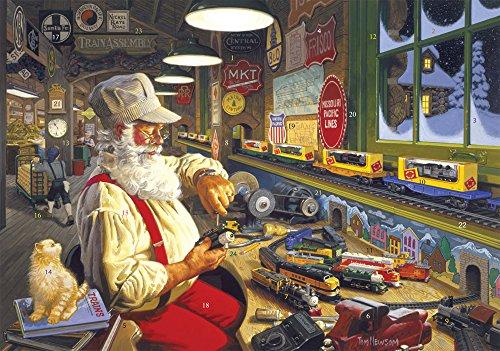 Vermont Christmas Company North Pole Trainworks Advent Calendar