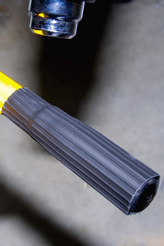 Rutschfester gerippter Schrumpf-Griff, 30,0 15,0 mm ID & 43,0 20,0 mm ID – Schwarz B07KGBT3N2 | Elegant Und Würdevoll