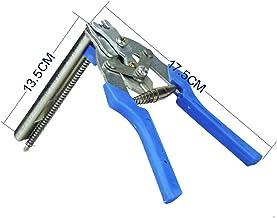 LIUBIAONET Tools Nieuwe rode varken ring zware M nagelmeter spar hek draad ring schanskorf mesh (kleur: blauw)