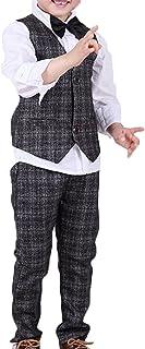 Moli&Hani ボーイズ スーツ キッズ フォーマルスーツ 男の子 カジュアル 七五三 結婚式 お受験 紳士服 90 100 110 120 130 140