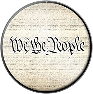 We The People - USA - Constitution - Metal Lapel Hat Pin Tie Tack Pinback