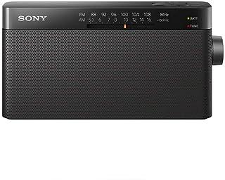 Sony ICF-306 Portable AM/FM Radio - Black (International Version)