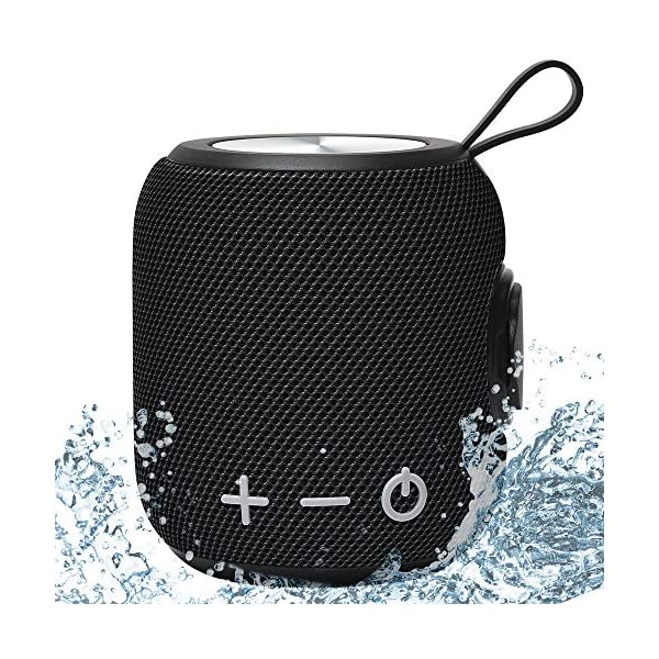 Bluetooth Speaker,Portable Dual Pairing Loud Wireless Mini Speaker, 360 HD Surround Sound & Rich Stereo Bass,12H Playtime, IPX6 Waterproof for Travel, Outdoors, Home and Party 2