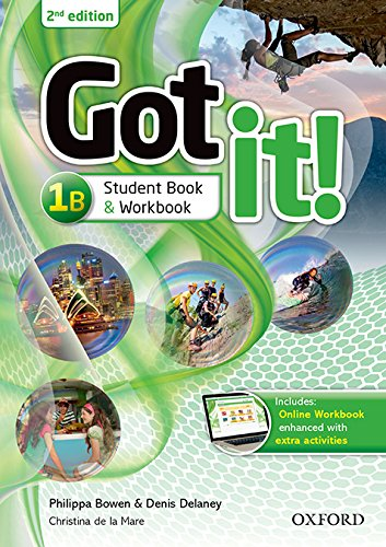 Got It! 1B - Student Book With Workbook and Multi-Rom - 02Edition
