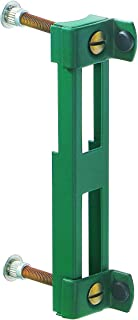 GAH-Alberts 654009 aanslag voor gelaste gaaspoorten | verzinkt, groene kunststof coating RAL 6005