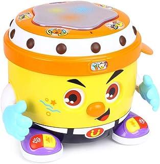 Popsugar DJ Bongo Musical Dancing Drum (Yellow,TH6107)