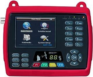 "MeterTo Digital 3.5"" LCD Satellite Finder Satellite Meter Detector WS-6950 DVB-S Compliant Terrestrial Signal Meter Receiver 950~2150MHz -65~-25dBm 2Mbps-45Mbps Video PAL/NTSC/SECAM USB"