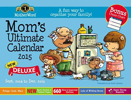 Motherword Basic Family Org Calendar (2015)