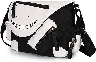 Siawasey Assassination Classroom Anime Cosplay Handbag Cross-body Tote Bag Backpack Messenger Bag Shoulder Bag