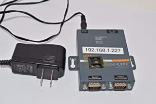 Lantronix UDS2100 Device Server for serial to Ethernet conversion - Convert from RS-232, RS-485, RS-422. DB-9, 2-wire, 4-wire, serial to RJ-45 10/100 Mbs Fast Ethernet; Wall mountable, Rail mountable - UD2100001-01