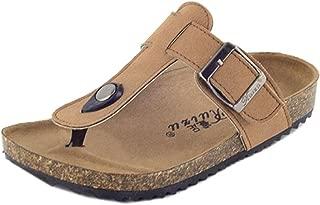 Majony Durable Fashion Girl's Boy's Kids Cork Footbed Thong Sandal (Toddler/Little Kid/Big Kid)